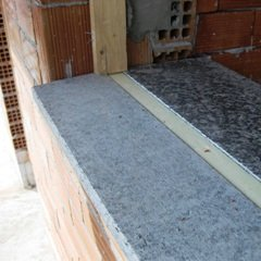 davanzale taglio termico
