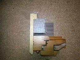 I controtelai termici occupano più spazio di quelli in ferro. Vero o Falso?