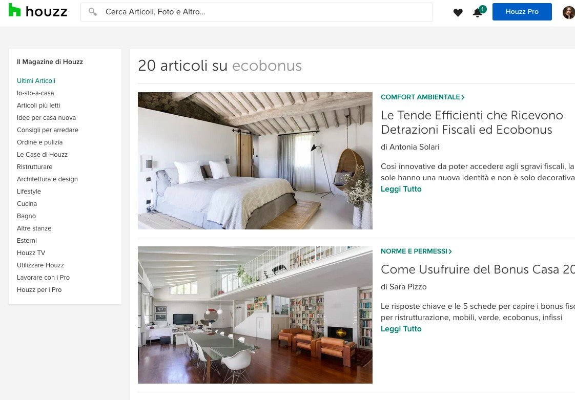 Come richiedere Ecobonus per finestre - Houzz Pro Review
